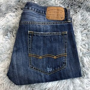 American Eagle Slim Straight Jeans Mens Size 34X32